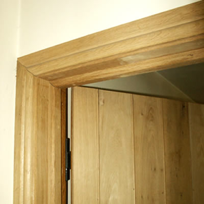 Original oak specialists in bespoke oak flooring for Door architrave