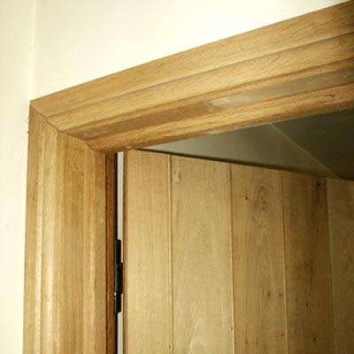 Original oak specialists in bespoke oak flooring for Door architrave